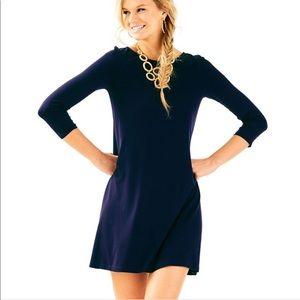 Lilly Pulitzer Ophelia Navy Swing Dress